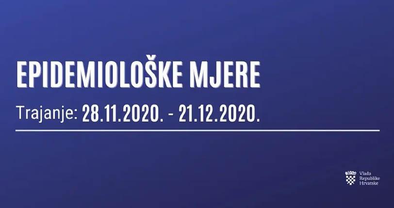Sportska Hrvatska Nove epidemioloske mjere Vlade Republike Hrvatske